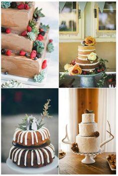 Sweet Inspirations #40: Beautiful Fall Wedding Cakes - diyweddingsmag.com