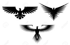 10942224-Eagle-symbol-isolated-on-white-for-tattoo-design-Stock-Vector.jpg 1,300×852 pixels