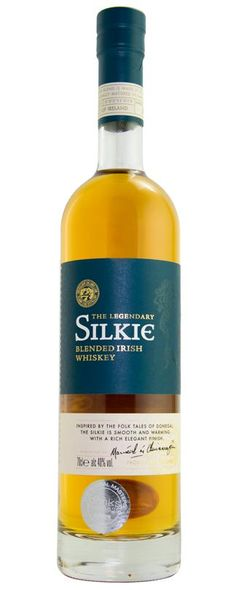 County Donegal's, Silkie Blended Irish Whiskey bottle The Silkie Blended Irish Whiskey has been produced by an independent distiller for the Sliabh Liag Distillery and is a blend between Single Malt and Grain Whiskey. Irish Whiskey Brands, Whiskey Logo, Single Malt Irish Whiskey, Whiskey Cream, Whiskey And You, Whiskey Cake, Jameson Irish Whiskey, Baileys Irish, Jars