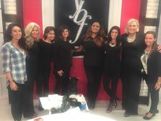 That's a wrap with YBF Beauty! It was so much fun taping last week!