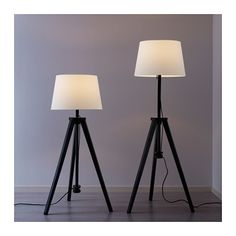 LAUTERS Floor lamp base with LED bulb - IKEA (just needs to be painted gold)