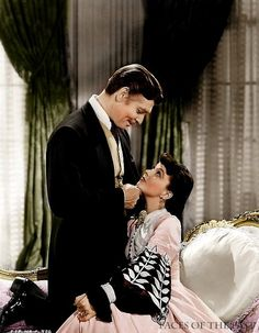 Gone with the Wind.... I know its an old movie, but I love old movies and I really like this old movie.