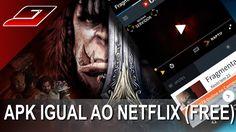 Como assistir filmes e séries online no celular grátis (App Igual ao Net...