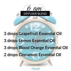 6 am Diffuser Blend 3 drops Grapefruit Essential Oil 3 drops Lemon Essential Oil 3 drops Blood Orange Essential Oil 2 drops Cinnamon Essential Oil Organic Essential Oils, Essential Oil Uses, Drop, Diffuser Blends, Essentials, Pure Products, This Or That Questions, Orange, Recipes