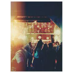 summer | night | barn | party