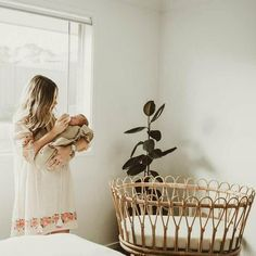 The Nook baby bassinet is hand made bassinet showcasing beautiful rattan hoops encased in a solid rattan frame. Its elegant and classy appearance will suit any new nursery. Screws And Bolts, Decorative Bows, Baby Bassinet, Foam Mattress, Baby Size, Rattan, Nook, Cribs, Nursery