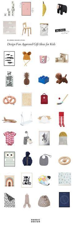 Design fan approved gift ideas for kids | NORDIC DESIGN