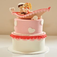 nice An Eco-Friendly Option of Silver Wedding Anniversary Cakes