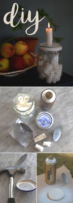 Making candles is a great hobby or business endeavor. For those who have the basics down cold, consider experimenting with the art of making hand dipped candles. Diy Craft Projects, Diy And Crafts, Ikea Bar, Candlemaking, Candels, Design Seeds, New Home Designs, Diy Desk, Diy Gifts