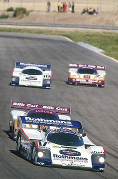 1987 - Porsche's Bell/Stuck/Mass/Wollek vs Jaguar's Lammers/Watson/Cheever/Boesel