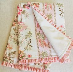 Blush Hortense Baby Blanket
