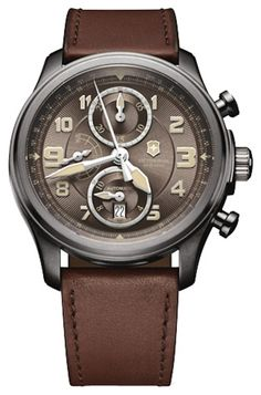 With a rich and sophisticated look, the Infantry Vintage Watch is part of a collection that includes a great variety of dials, colors and finishes to match everyone's tastes. Brand: Victorinox Swiss A