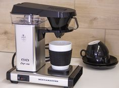 Technivorm Moccamaster Cup-One - BeCoffee Coffee Shop, Coffee Maker, Coffee Lover Gifts, Boiler, Best Coffee, Keurig, Espresso Machine, Netherlands, Brewing