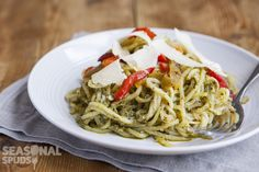 So if you've got a spiralizer, let's do something different. Spiralizers aren't…