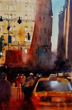 Alvaro Castagnet, 1954 ~ Impressionist Watercolor painter | Part. 2 | Tutt'Art@ | Pittura * Scultura * Poesia * Musica |