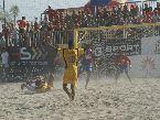 Bruno Xavier con le mani al cielo, il talento #brasiliano non è riuscito a invertire la rotta del match