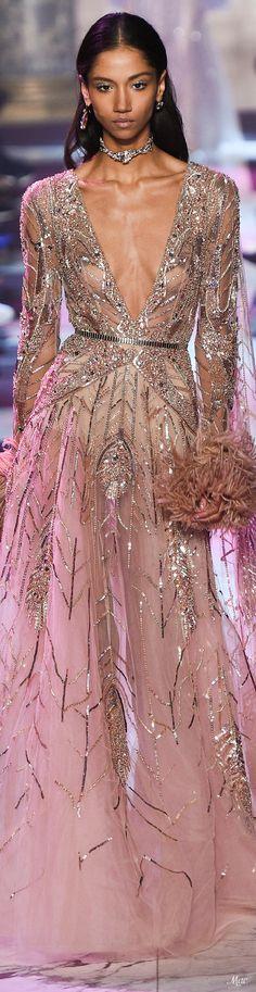 08d58284bf483 Spring 2018 Haute Couture Elie Saab Balo Elbiseleri, Resmi Elbiseler,  Gelinlikler, Ellie Saab