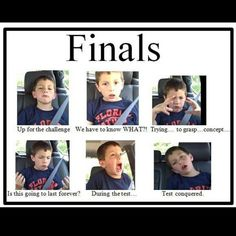 This will be me during the weekend trying to study then the final on Thursday!