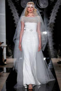 #ReemAcra coleção #noivas #primavera 2014 NY Bridal Fashion Week #casarcomgosto
