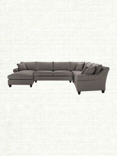 """Rockway 157"""" Four Piece Upholstered Sectional In Notion Ironside"""