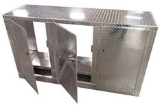 6 Foot Standard Diamond Plate Aluminum Base Cabinet! MADE IN THE USA!