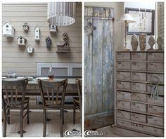 French: Grey andWhite - lookslikewhite Blog - lookslikewhite via My Romantic Home