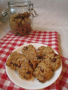 Dietetyczne ciasteczka owsiane bez cukru, mąki i tłuszczu  wegańskie