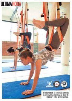 Noticias! Método AeroYoga® y AeroPilates® by Rafael Martinez de Nuevo en Prensa…#wellness #ejercicio #moda #tendencias #fitness #yogaaereo #pilatesaereo #bienestar #aeroyogamexico #aeroyogabrasil #yogaaerien #aeropilates #aeroyoga #aeropilatesbrasil #aeropilatesmadrid #aeropilatesmexico #weloveflying #aerial #yoga #pilates #aero #medicina #salud #aeroyogaparaguay #aerialyoga #belleza