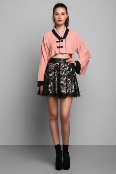 Vintage '80s Cropped Kimono Jacket #urbanoutfitters #vintage