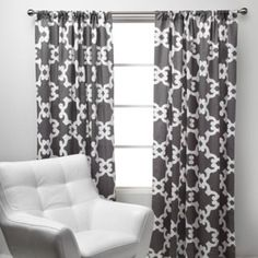 Montecito Panels - Grey - modern - curtains - Z Gallerie