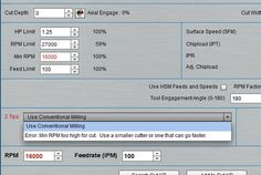 G-Wizard CNC Speeds and Feeds Calculator for CNC Routers