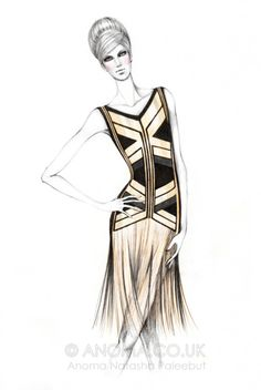 anomapaleebut:    My Fashion Illustration: Gucci Spring 2012 Ready-to-Wear