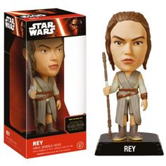 Buy Star Wars The Force Awakens Rey Wacky Wobbler Bobble Head from Pop In A Box UK, the home of Funko Pop Vinyl subscriptions and more. Paw Patrol, Minions Star Wars, Star Wars Rey, Star Trek, Star Wars Episodio Vii, Regalos Star Wars, Vinyl Figures, Action Figures, Jouet Star Wars