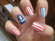 very cute, I did something like this for 4th of july but with the american flag turned out awesome