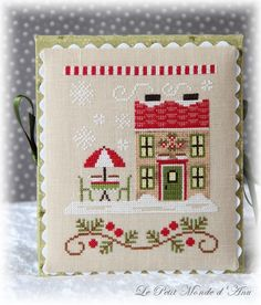 Hot Cocoa Café (available from Country Cottage Needleworks).