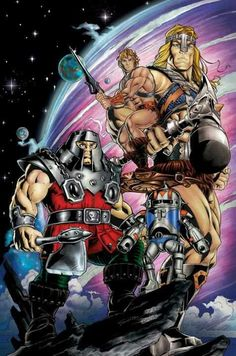 Masters of the Universe - penciled by Axel Giménez, inked by Diana Egea Conesa, & coloured by Santosh Pillewar