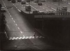 Shin Yanagisawa - Over pass. Shibuya, from the series Tracks of the city, 1960s