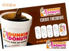 Completa 5 stickers y recibe un café de 10 onzas gratis.#DunkinCoffee #DunkinPanamá