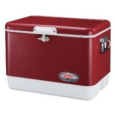 54 Quart Steel Belted Cooler  #cooler #icechest