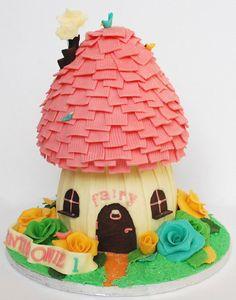 Fairy house cake 05