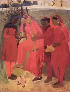 The Swing  -  Amrita Sher-Gil, 1940