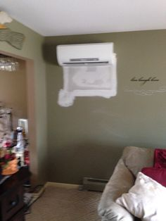 goodbye wall air conditioner hello mitsubishi ductless heat pump air conditioner