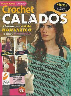 Revista con vestido y top crochet que me gustan. tienen graficos