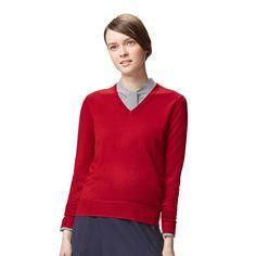 women-v-neck-sweater