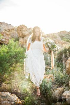 modest wedding dress with flutter sleeve from alta moda. --(modest bridal gown)--