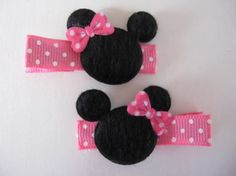 I could totally make these for my sweet little girls for our next Disney trip.