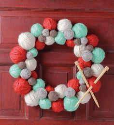 how cute would this be on the knitting room door.