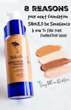 SeneGence MakeSense Foundation comes in sheer, medium and full coverage.  All 3 are light-weight and give you the barely there look that is so trendy.  If you are looking for tinted moisturizer, CCTM or extra Anti Aging goodies for your skin - you'll find it here.  There are many colors and I offer a service to match you to the correct shade.  LipSense isn't the ONLY amazing thing that SeneGence offers.  #foundation #senegence