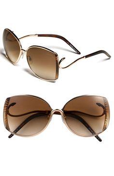 Roberto Cavelli sunglasses... I love the snake design on the frames♥
