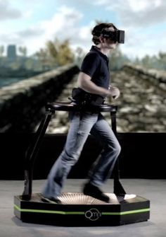 Virtuix Omni is an omnidirectional treadmill video game peripheral for virtual reality games currently in development by Virtuix.